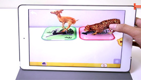 Trên tay bộ đồ chơi thông minh cho trẻ em NeoBear - Pocket Zoo 3D