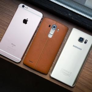 iPhone 6s Plus đọ dáng với Galaxy Note 5 và LG G4