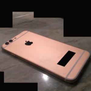 Ảnh iPhone 6S camera kép, vỏ vàng hồng xuất hiện
