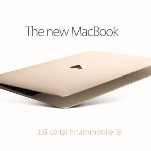 Apple Macbook 2015 đã có tại Hnam Mobile – Giá tốt nhất