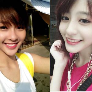 Bản sao của hot girl Khả Ngân đoạt giải Selfie Cùng Hnam