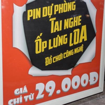 Chỉ có tại Hnam Mobile - Xe bán phụ kiện lưu động, giá chỉ từ 29.000Đ