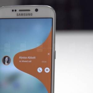 Chỉ dùng được một cạnh cong Samsung Galaxy S6 Edge