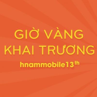 Giờ vàng tặng 600 lít xăng mừng khai trương Hnam Mobile thứ 13.