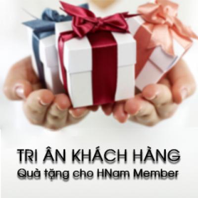 Hnam Mobile 10 năm 1 chặng đường - Tri ân khách hàng, Quà tặng cho Hnam Member