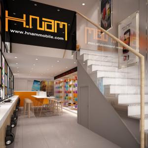 Hnam Mobile ra mắt bản thiết kế showroom thứ 14 tại Quận 6