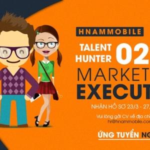 Hnammobile - Tuyển dụng 02 vị trí Marketing Executive