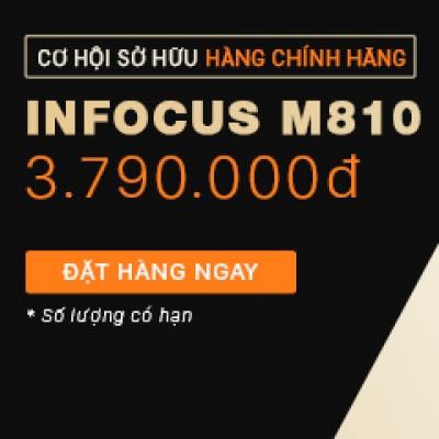 Mở bán độc quyền 2000 điện thoại InFocus M810 chính hãng, giá chỉ 3.7 triệu
