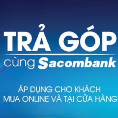 Hướng dẫn mua trả góp online bằng thẻ tín dụng Sacombank