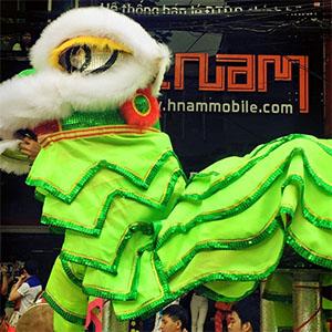 Khai trương mùng 1 Tết Ất Mùi 2015 của hệ thống Hnam Mobile