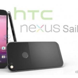 Lộ thiết kế và cấu hình của HTC Nexus Sailfish