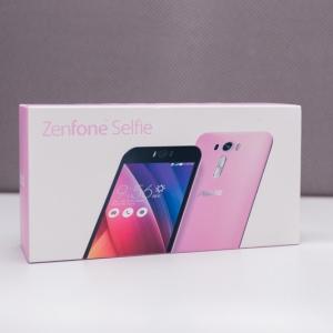 Mở hộp Asus Zenfone Selfie chuyên chụp