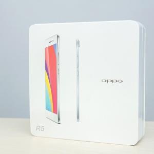 Mở hộp OPPO R5 mỏng nhất thế giới tại Hnam Mobile.