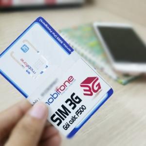 Mua SIM 3G F500 Mobifone chỉ 289.000Đ – Hưởng trọn gói sử dụng 3G suốt 12 tháng
