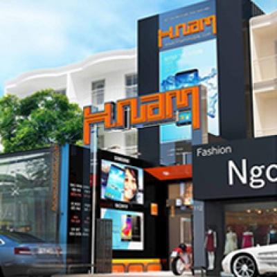 Ngắm concept siêu đẹp của cửa hàng Hnam Mobile Thủ Đức