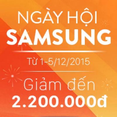 Ngày hội Samsung lần 3 – Giảm giá tất cả điện thoại, máy tính bảng Samsung