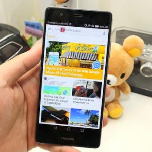 P9 - smartphone cao cấp của Huawei chụp ảnh tốt