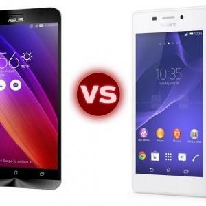So sánh điện thoại Sony Xperia M4 Aqua và Asus Zenfone 2