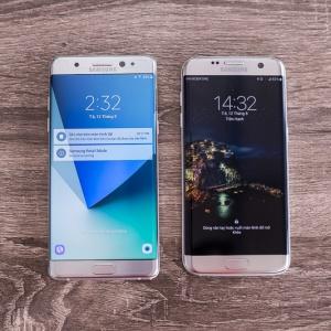 So sánh Galaxy Note 7 & S7 Edge - lựa chọn nào cho bạn ?