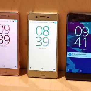 Sony tung bộ 3 video giới thiệu điện thoại Xperia X, Xperia XA, Xperia X Performance