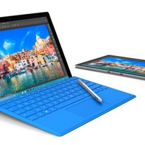 Surface Pro 4 - màn hình lớn hơn, mỏng hơn, nhanh hơn 30%, vân tay trên bàn phím, giá 899 USD