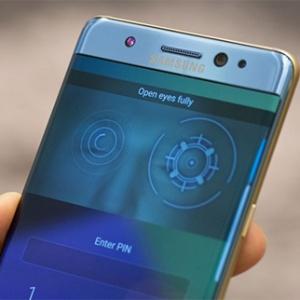 Thử tính năng quét mống mắt trên Samsung Galaxy Note 7