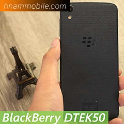 Trên tay BlackBerry DTEK50: mỏng nhẹ, bảo mật cực tốt.