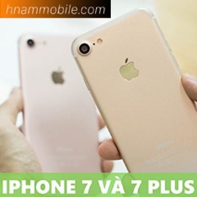 Trên tay iPhone 7 và 7 Plus phiên bản cuối: Thiết kế tinh tế.