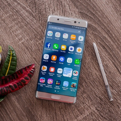 Trên tay Samsung Galaxy Note 7 - vẻ đẹp hoàn hảo.