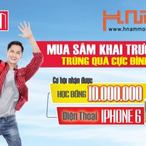 Trúng ngay iPhone 6 64 GB khi mua trả góp qua Home Credit