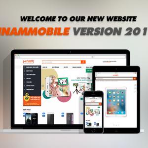 Website Hnam Mobile phiên bản 2016: Đẹp, tiện dụng, nâng cao trải nghiệm người dùng