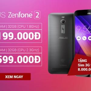 Xả hàng: Zenfone 2 cấu hình đỉnh - giá giật mình!