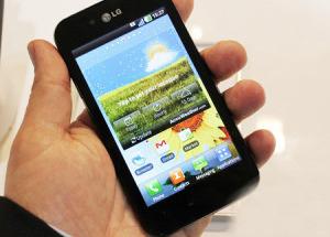 LG Optimus Black giá hơn 12,5 triệu