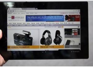 Máy tính bảng Xperia Z xuất hiện tại TP HCM