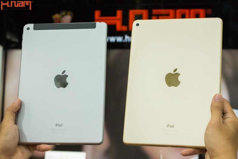 Mở hộp iPad Air 2 mới nhất tại Hnam Mobile