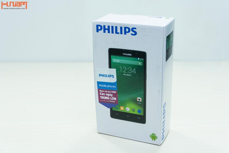 Mở hộp smartphone Philips W3509 lựa chọn tốt cho phân khúc tầm trung