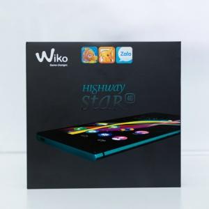 Mở hộp Wiko Highway Star 4G - thiết kế nguyên khối sang trọng.