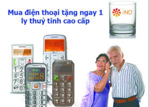 Mua INO MOBILE tại Hnam Mobile tặng ly thuỷ tinh cao cấp
