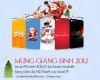 Mua iPhone tặng ngay dán da HD hình Noel, new year 2013 cực kool.