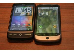 Mua Nexus One hay chờ HTC Desire