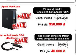 Mua phụ kiện điện thoại giảm giá lên đến 60% tại Hnam Mobile.