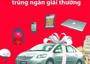 Mua trả góp tại Hnam Mobile trúng ngay Toyota Vios