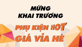 MỪNG KHAI TRƯƠNG: Phụ kiện hot - Giá vỉa hè, 300 iRing giá 3K mỗi ngày