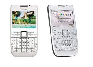 Nokia E63 màu trắng về VN