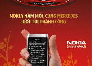 Nokia năm mới - cùng Mercedes lướt tới thành công tại Hnam Mobile