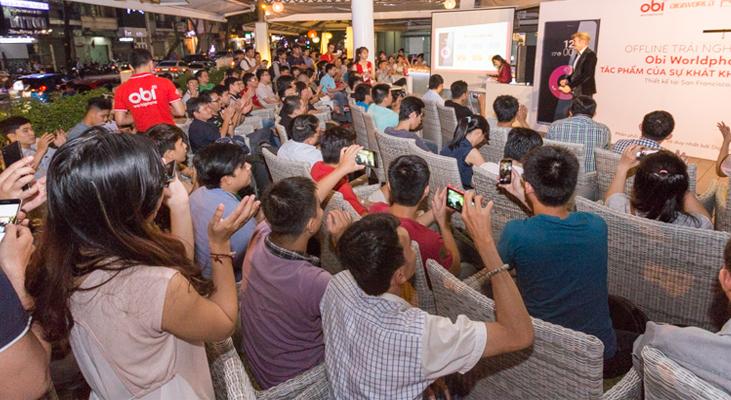 Offline lớn nhất 2015 - Trải nghiệm smartphone đậm chất Mỹ OBI Worldphone SF1
