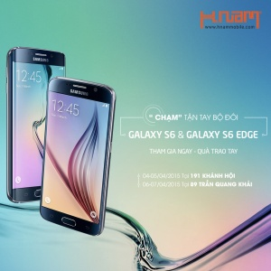Thư mời tham gia Offline trải nghiệm Samsung Galaxy S6/S6 Edge.