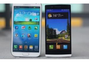 Oppo Find 5 đọ dáng với Galaxy Note II