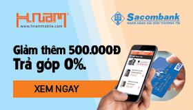 Rẻ, rẻ nữa, rẻ mãi – Mua iPhone bằng thẻ Sacombank, Giảm thêm 500.000Đ
