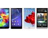 Samsung Galaxy S5 đọ với Sony Xperia Z2, LG G Pro 2 và HTC One
